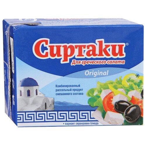 Сыр Сиртаки Original брынза дар гор сыр брынза с чёрными и зелёными плодами оливы в масле 40% 250 г