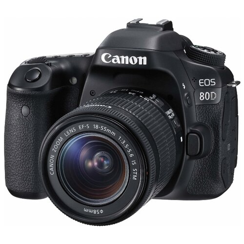 Фотоаппарат Canon EOS 80D Kit фотоаппарат canon eos 80d body