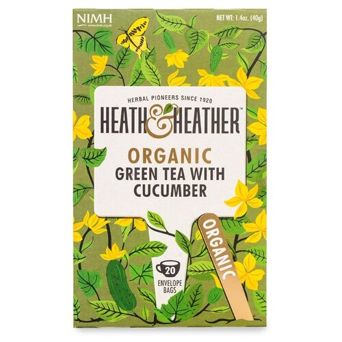 Чай зеленый Heath&Heather с heath english level 10