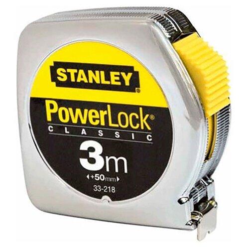 Рулетка STANLEY POWERLOCK набор stanley ушм болгарка stgs7115 b9 рулетка dwht033662