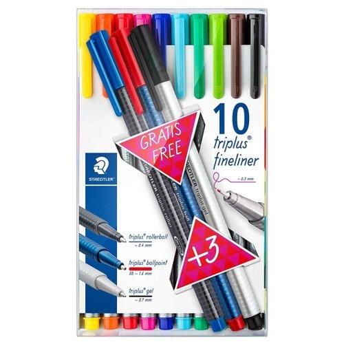Staedtler набор капиллярных staedtler wooden colored pencils 7935285 creative kits drawing pencil