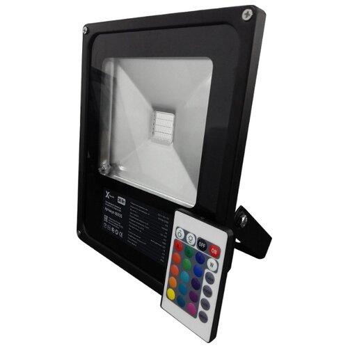 Прожектор светодиодный 30 Вт лампочка x flash 48762