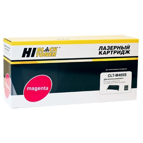 Фото - Картридж Hi-Black HB-CLT-M409S oxion epo102 black
