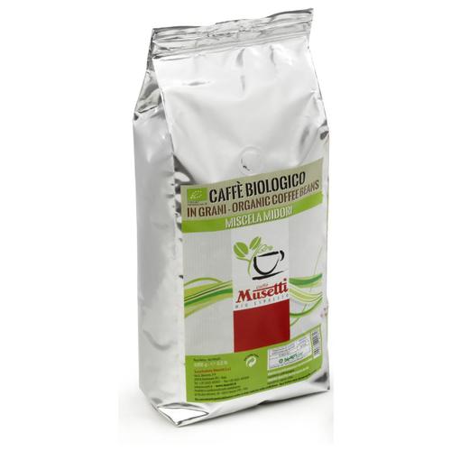 Кофе в зернах Musetti Organic