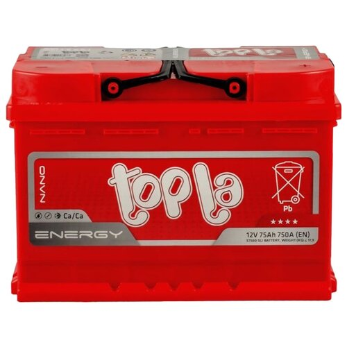 Автомобильный аккумулятор Topla аккумулятор