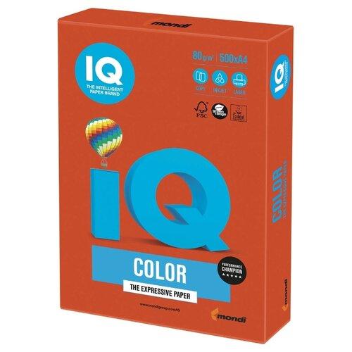 Фото - Бумага A4 500 шт. IQ color ZR09 кубики айрис пресс iq веселые динозаврики 978 5 8112 6898 6 9 шт