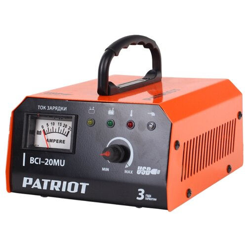 Зарядное устройство PATRIOT зарядное устройство patriot 830301330
