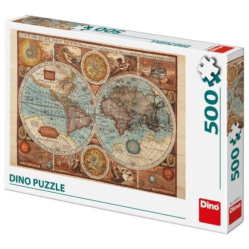 Пазл Dino Карта мира 1626 года