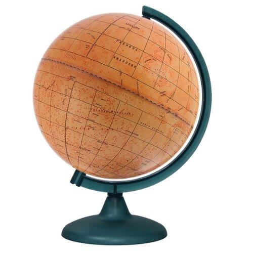 Глобус Марса Глобусный мир 250 глобус глобусный мир 10406 с физической картой мира с подставкой синий диаметр 64 см