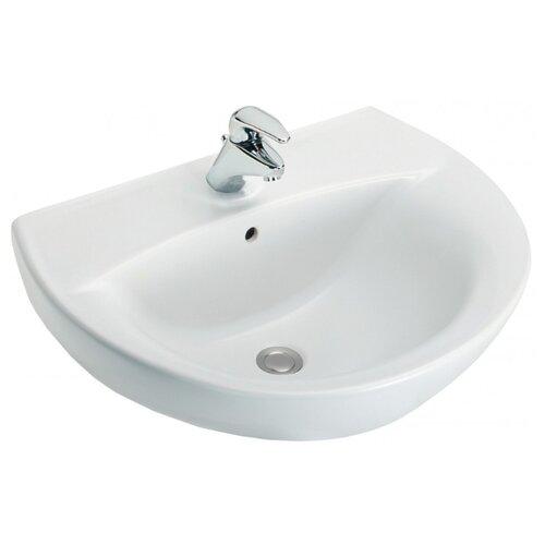Раковина 55 см Jacob Delafon акриловая ванна 170х70 см jacob delafon struktura e6d020ru 00