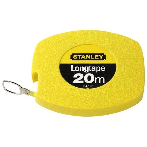 Рулетка STANLEY LongTape набор stanley ушм болгарка stgs7115 b9 рулетка dwht033662