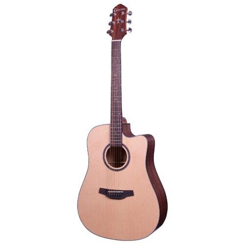 Электроакустическая гитара crafter md 40 n bag