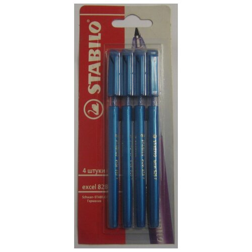 Набор шариковых ручек STABILO stabilo набор капилярных ручек stabilo pointmax 24цв в пластике блистер