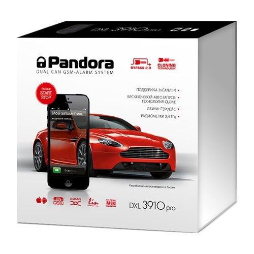Автосигнализация Pandora DXL автосигнализация pandora dxl 3910pro 2xcan gsm lin slave
