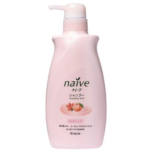 Kracie шампунь Naive для сухих