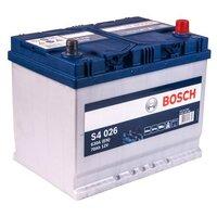 Автомобильный аккумулятор BOSCH S4 026 (70R) 630А обратная полярность 70 Ач (261x175x220)