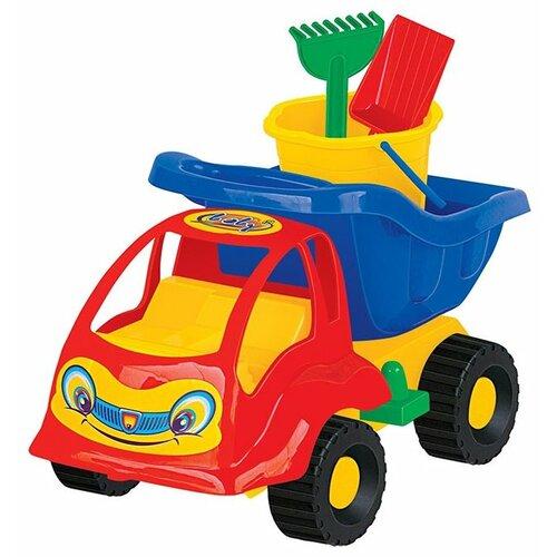 Фото - Грузовик Полесье Муравей 3195 полесье набор игрушек для песочницы 56 муравей цвет в ассортименте