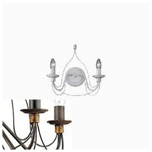 Бра Ideal Lux Corte CORTE AP2 бра ideal lux accademy ap2