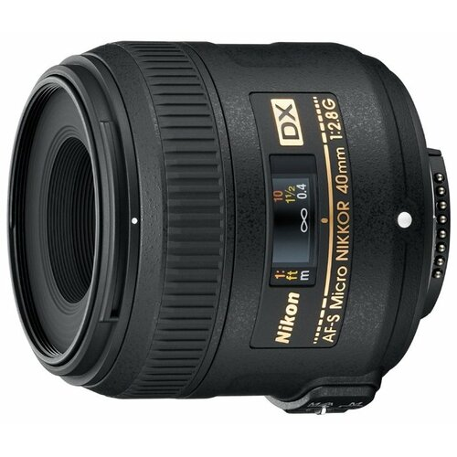 Фото - Объектив Nikon 40mm f 2.8G AF-S объектив nikon 50mm f 1 4d af