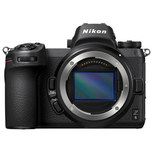 Фото - Фотоаппарат Nikon Z 6 Body lav z чёрный браслет на шнурке с розовым золотом из коллекции initials lav z