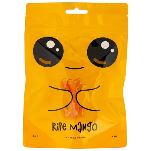 Манго Ripe mango cушеное 80 г леггинсы printio wild mango дикое манго