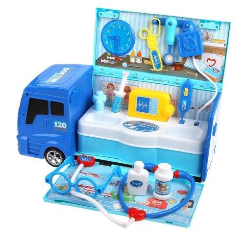 Набор доктора Наша игрушка 8366 фигурка наша игрушка горилла spl310484