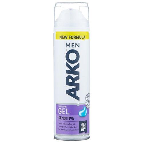 Гель для бритья Sensitive Arko крем для бритья fresh arko