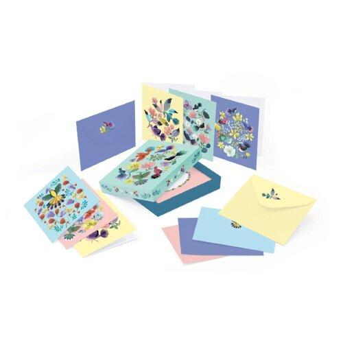 Фото - Набор открыток DJECO Night кижи набор из 16 открыток