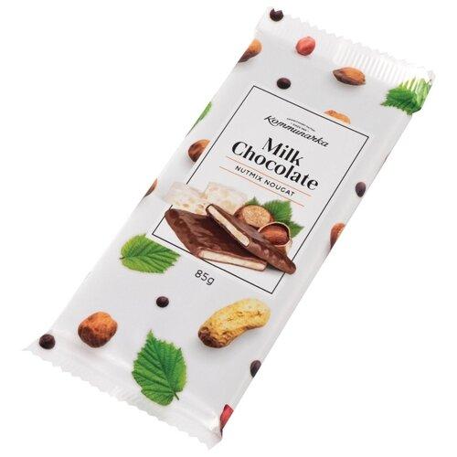 Шоколад Коммунарка молочный с коммунарка шоколад горький с клубничным соком 200 г