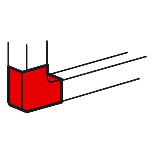 Угол плоский для настенного угол legrand внешний 75х20мм 30302