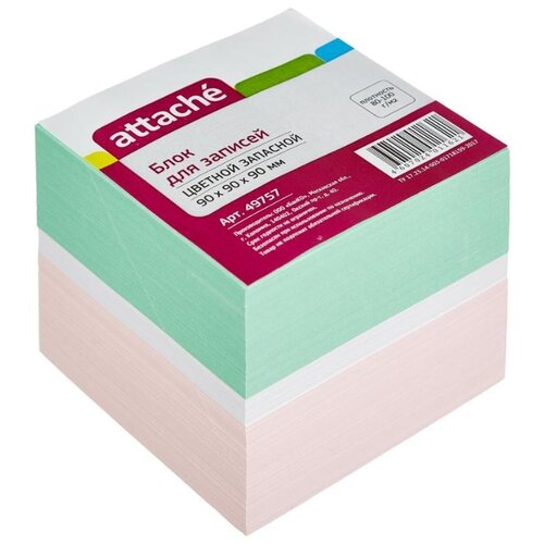 Attache Блок-кубик запасной блок кубик зима