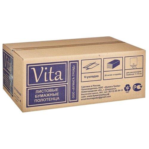 Фото - Полотенца бумажные Vita сумка labella vita labella vita mp002xw13rke