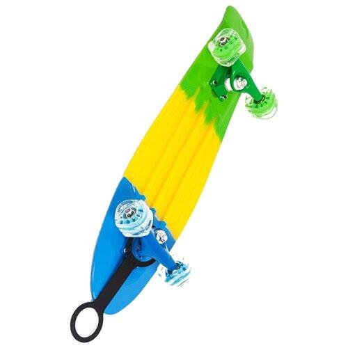 Лонгборд Moove&Fun PP2708-2 скейт пластиковый moove fun 22х6 1 pp2206 1 green