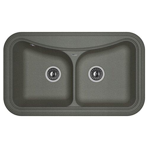 Врезная кухонная мойка врезная кухонная мойка 78 см florentina касси 780 fg 20 230 е0780 107 песочный