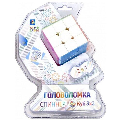 Головоломка 1 TOY Куб-спиннер головоломка 1 toy шар т14208