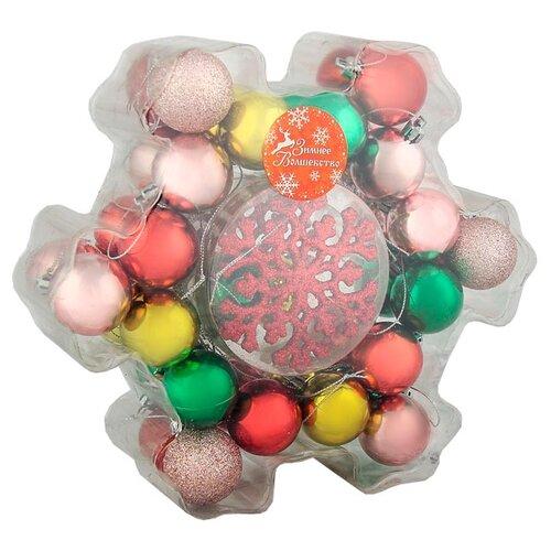 Фото - Набор елочных игрушек Зимнее полесье набор игрушек для песочницы 468 цвет в ассортименте