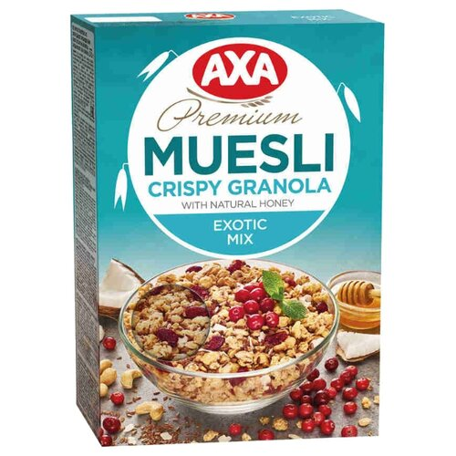Гранола AXA с семенами льна ite it8985e axa