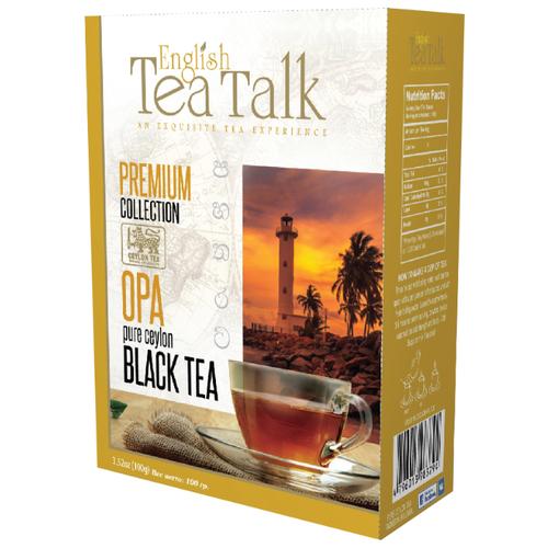 Чай черный English tea talk talk