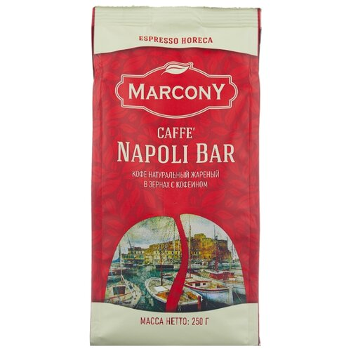 Кофе в зернах Marcony Napoli Bar