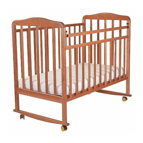 Кроватка СКВ-Компани 16011x кровать скв компани митенька опускающаяся планка колесо качалка орех км150 0554150117