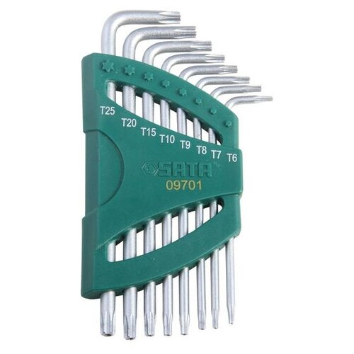 Набор имбусовых ключей SATA набор sata 09516