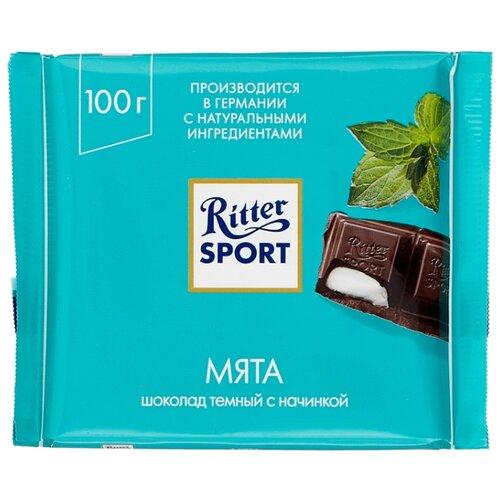 Шоколад Ritter Sport Мята темный