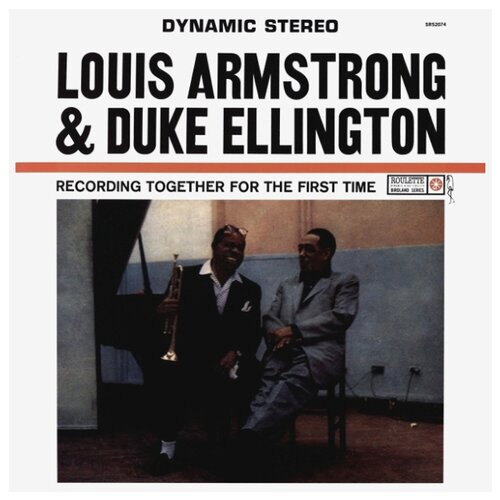 Louis Armstrong and Duke louis armstrong and duke ellington recording together for the first time lp