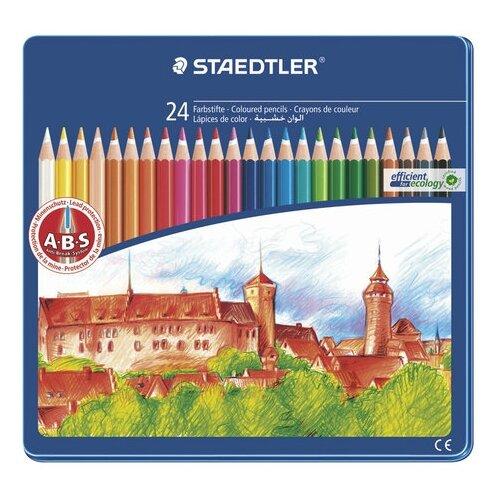 Staedtler Карандаши цветные staedtler wooden colored pencils 7935285 creative kits drawing pencil