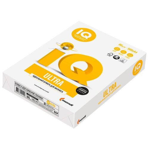 Фото - Бумага A4 500 шт. Mondi IQ Ultra pure прокладки гигиенические женские dry ultra 28 см 10 шт