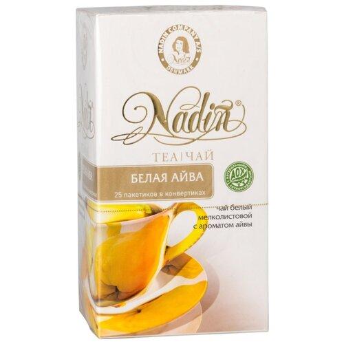 Чай белый Nadin с ароматом айвы чай композиционный листовой nadin рождественский день 75 г