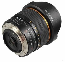 Объектив Samyang 8mm f/3.5 AS IF MC Fish-eye Nikon F