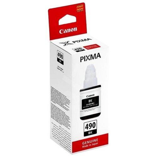 Фото - Чернила Canon GI-490BK 0663c001 чернила revcol универсал для hp canon 100ml yellow dye