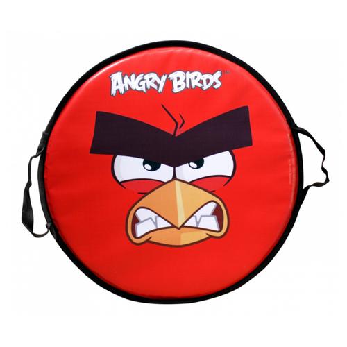 ледянка 72х41 см прямоугольная angry birds 1toy Ледянка 1 TOY Angry birds Т58162