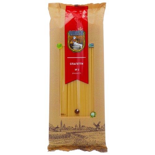 Ameria Макароны Спагетти № 3 макаронные изделия ameria спагетти 4кг